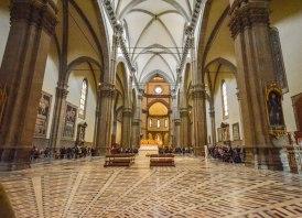 The inside of Santa Maria dei Fiore Cathedral